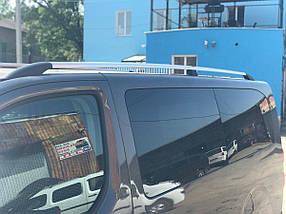 Peugeot Traveller 2017↗ гг. Рейлинги Хром XL база, пластиковая ножка / Рейлинги Пежо Травеллер
