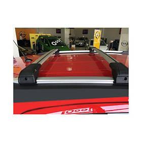 Поперечный багажник на интегрированые рейлинги под ключ (2 шт) Subaru Outback 2005-2009 гг. / Поперечный багажник Субару Аутбек
