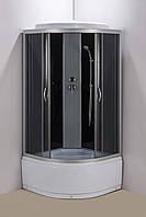 Гидромассажный бокс Aquastream GLS 80 Black / Аквастрим Гидромассажная кабина бокс