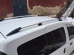Dacia Dokker Рейлинги Хром с пластиковой ножкой / Рейлинги Дачиа Доккер
