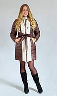 Зимняя куртка  Алёна К&ML шоколад, фото 1