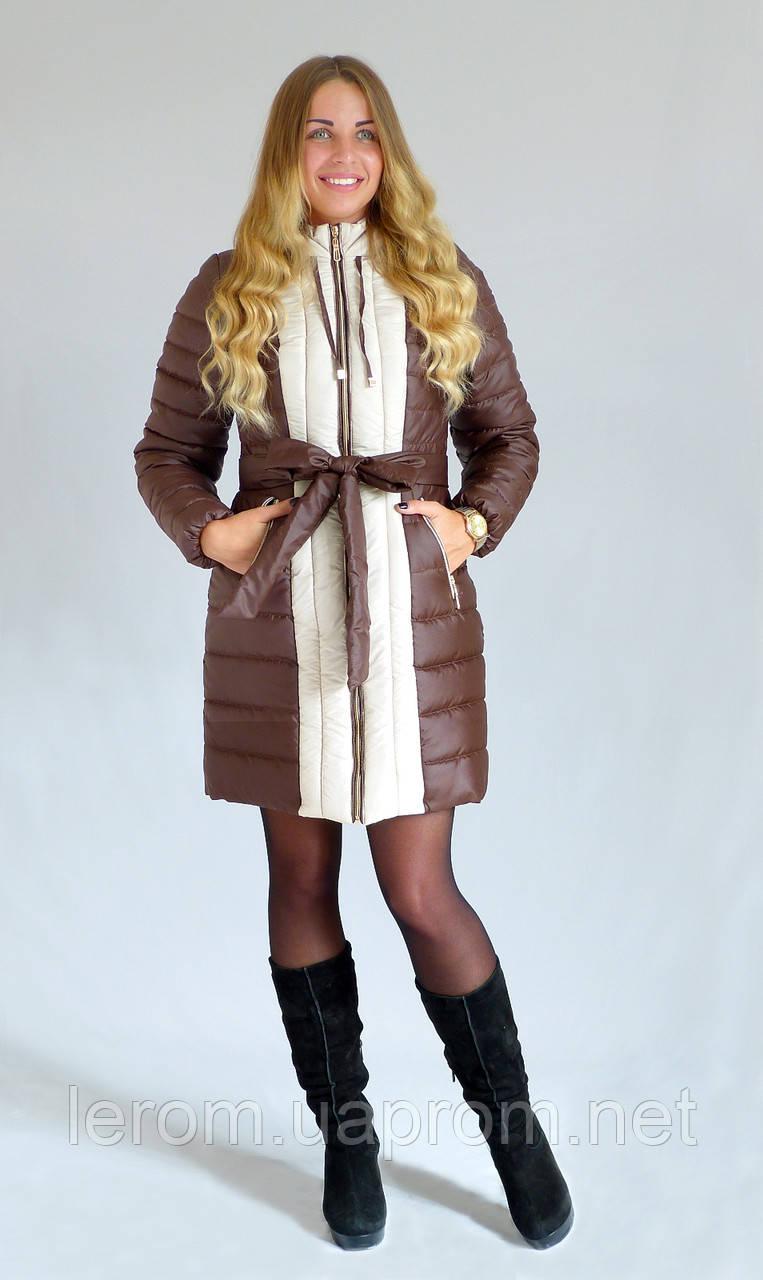 Зимняя куртка  Алёна К&ML шоколад