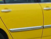 Молдинг дверной (4 шт, нерж) Toyota Corolla 2002-2007 гг.