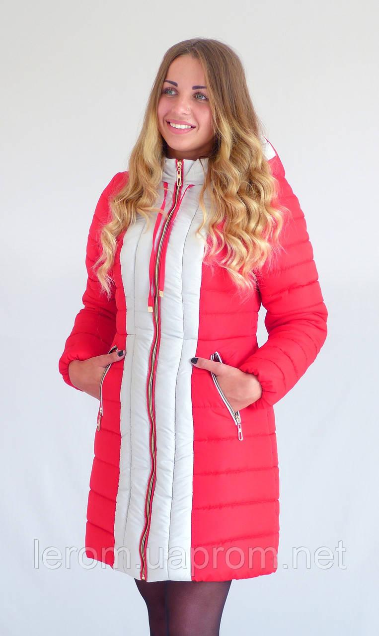 Зимняя куртка  Алёна К&ML малина