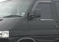 Молдинги стекол (2 шт, нерж) Volkswagen T4 Caravelle/Multivan