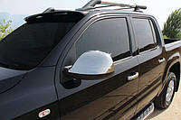 Хром накладки на зеркала VW Amarok (ABS) / Накладки на зеркала Фольксваген Амарок