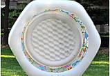 """Детский надувной бассейн Intex,191*178*61 см """"Океанский риф"""".Cемейный,большой, для дома, дачи, для детей 56493, фото 9"""