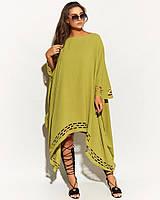 Жіноче літнє плаття.Розміри:50/60.+Кольори, фото 1