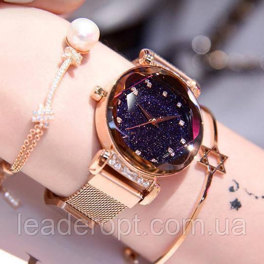 [ОПТ] Женские наручные часы Starry Sky watch (золото)