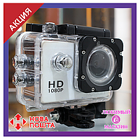 Экшн-камера Action Camera D600 A7. Видеокамера для спорта. Водонепроницаемая.