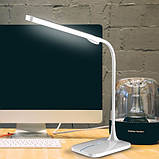 Світильник настільний 6W білий зі зміною кольору світла світлодіодний Feron, фото 4
