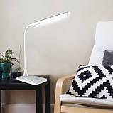 Світильник настільний 6W білий зі зміною кольору світла світлодіодний Feron, фото 2