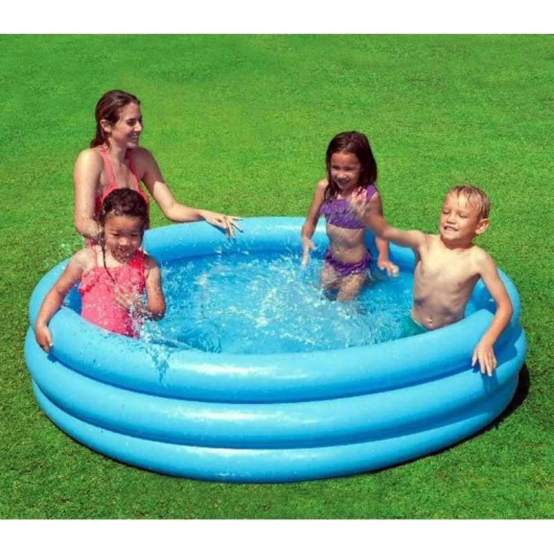"""Детский надувной бассейн """"Кристал"""" Intex 160л"""