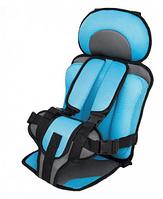 Детское автокресло WOW Lux бескаркасное с подголовником кресло для детей в авто от 9-36 кг