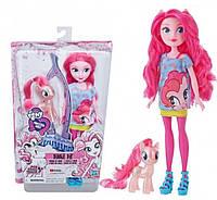 Кукла и Пони Пинки Пай My Little Pony Эквестрия герлз Equestria Girls Mirror