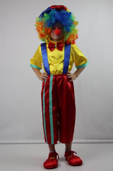 Детский новогодний костюм Клоун