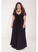Шикарное вечернее платье от производителя Royal Lusien большого размера 10-208