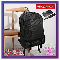 Городской рюкзак Calvin Klein. Черный унисекс рюкзак. Рюкзак для ноутбука.