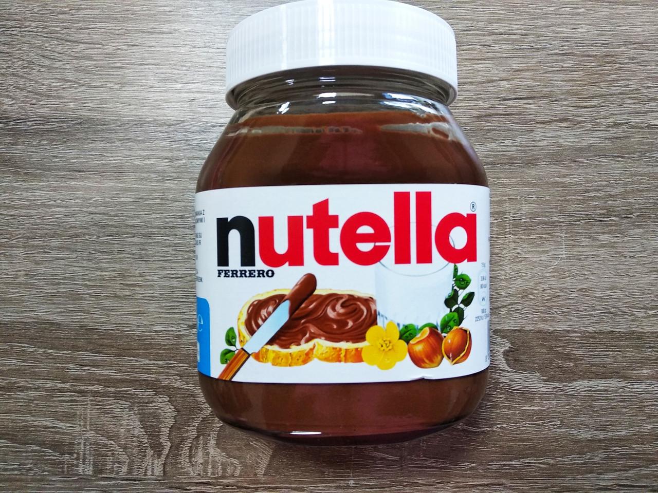 Nutella шоколадна паста 600 гр.