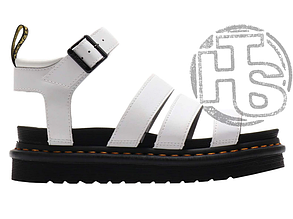 Женские сандалии Dr. Martens Blaire Hydro Leather Gladiator Sandals White 25768100