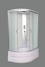 Гидромассажный бокс Aquastream GLS 120 White правосторонний / Аквастрим Гидромассажная кабина бокс