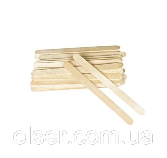 Узкие деревянные шпателя, 100 шт.