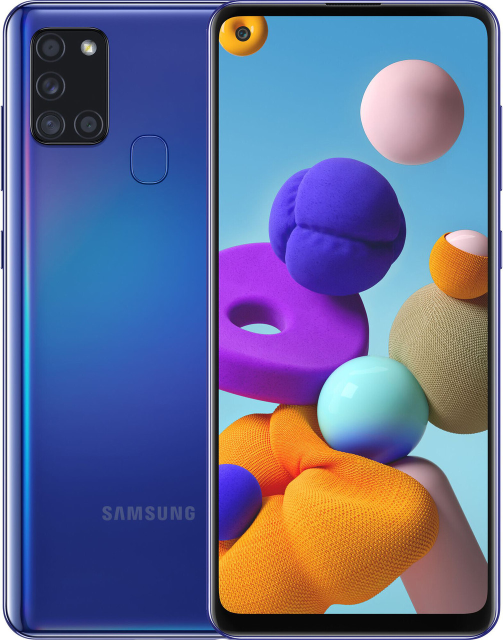 Смартфон Samsung Galaxy A21s 3/32GB Blue (SM-A217FZBNSEK)