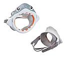 "Детский набор для дайвинга ""Акула"" (Маска, трубка) Intex, фото 2"