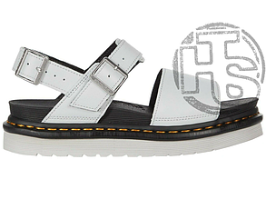 Женские сандалии Dr. Martens Voss Leather Strap Sandals White 25771051