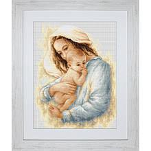 Наборы для вышивания крестом Luca S Мать и дитя