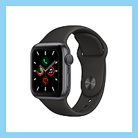 Новый Apple Watch Series 5 44mm Space Gray Aluminum Case with Black Sport Band (MWVF2)