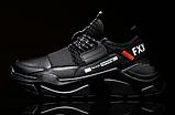 Кросівки чоловічі чорні FXXK Off, фото 3