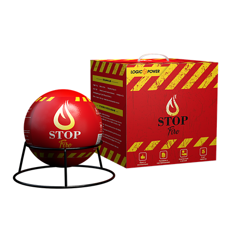 Автономная сфера порошкового пожаротушения LogicPower Fire Stop S9.0M, фото 2