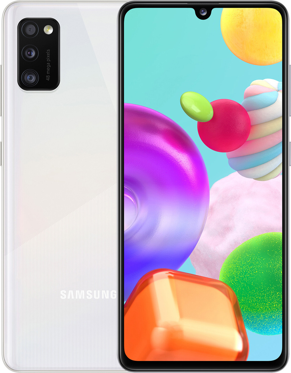 Смартфон Samsung Galaxy A41 4/64GB White(SM-A415FZWDSEK)