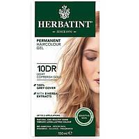 Herbatint, Перманентная краска-гель для волос, 10DR, светлый медно-золотой блондин