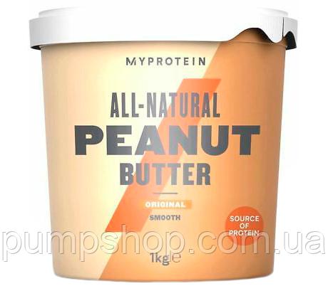 Арахісова паста кранч MyProtein Peanut Butter 1 кг ( смузі )