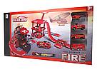 """Игровой набор гараж """"six-six-Zero: Пожарная станция""""   , фото 2"""