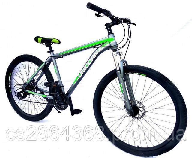 Велосипед Unicorn Journey 14G 19″ 29″ Gray & Green