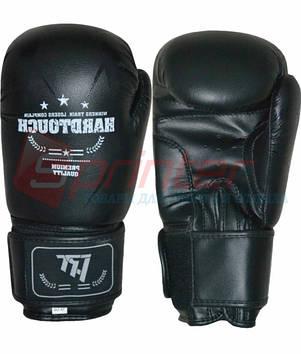 "Перчатки боксёрские ""HARD TOUCH"" 10 чёрный."