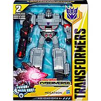 Трансформер Мегатрон, Transformers Megatron, Cyberverse Ultimate Class, Hasbro E2066