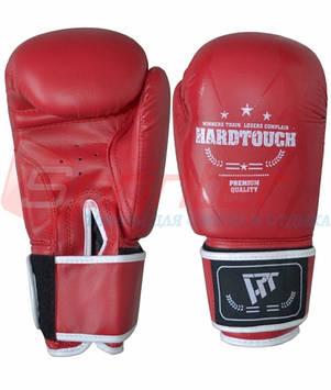"""Перчатки боксёрские """"HARD TOUCH"""" 10 красный."""