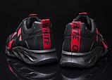 Кроссовки мужские черно-красные, фото 6