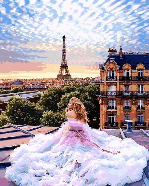 Картина по номерам Babylon Парижские мечты 50*65 см (в коробке) арт.VPS1013