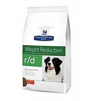 Hills diet canine R/D - 12 кг