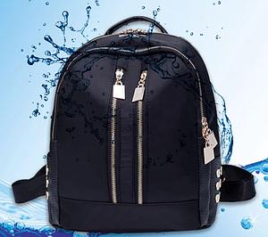 Рюкзак девушка Нейлоновая ткань черный сделанный в Китай спортивный городской стильный только опт