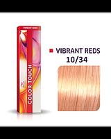 Фарба для волосся Wella Color Touch 10/34 золотисто-мідний-новинка!, фото 1