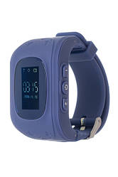 Дитячий смарт-годинник ERGO GPS Tracker K010 Dark Blue