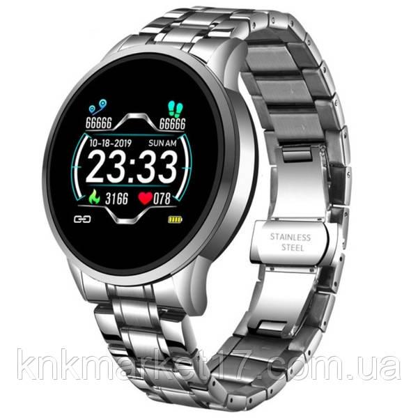 Lige Розумні годинник Smart Lige Omega Silver