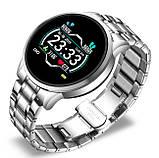 Lige Розумні годинник Smart Lige Omega Silver, фото 3