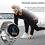Lige Розумні годинник Smart Lige Omega Silver, фото 5